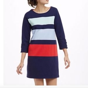Allihop Anthropologie Colorblock Dress